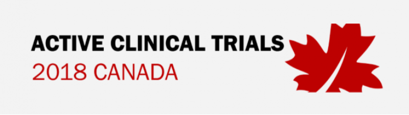 Clinical Trials in Canada 2018 - Infographic