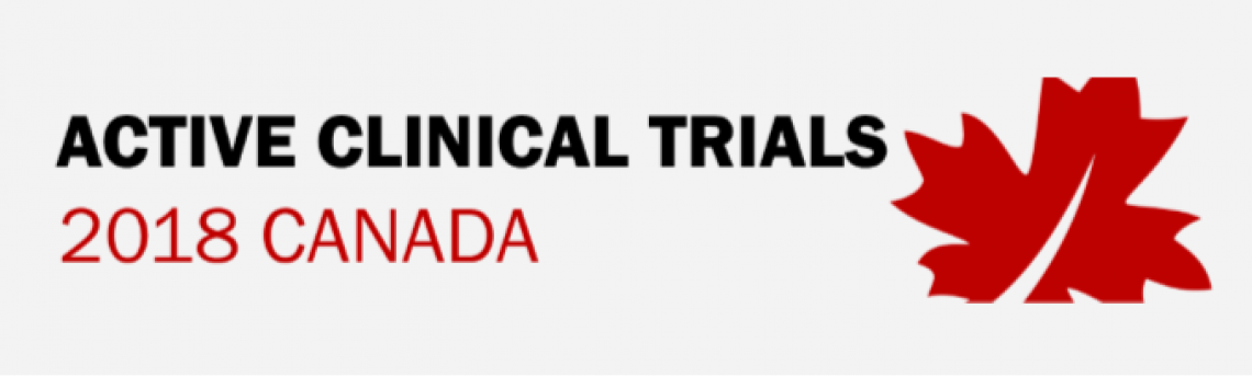 Infographic – Clinical Trials in Canada 2018