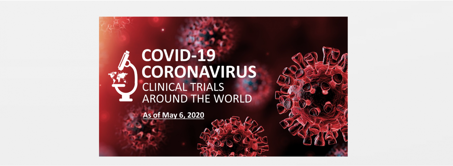 Covid-19 coronavirus clinical trials numbers for April
